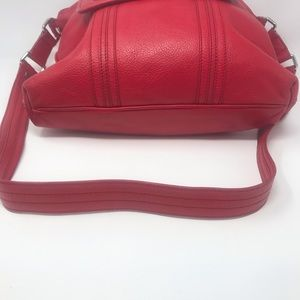 Marc By Marc Jacobs Bags - Marc Jacobs Red Leather Crossbody Tote Bag